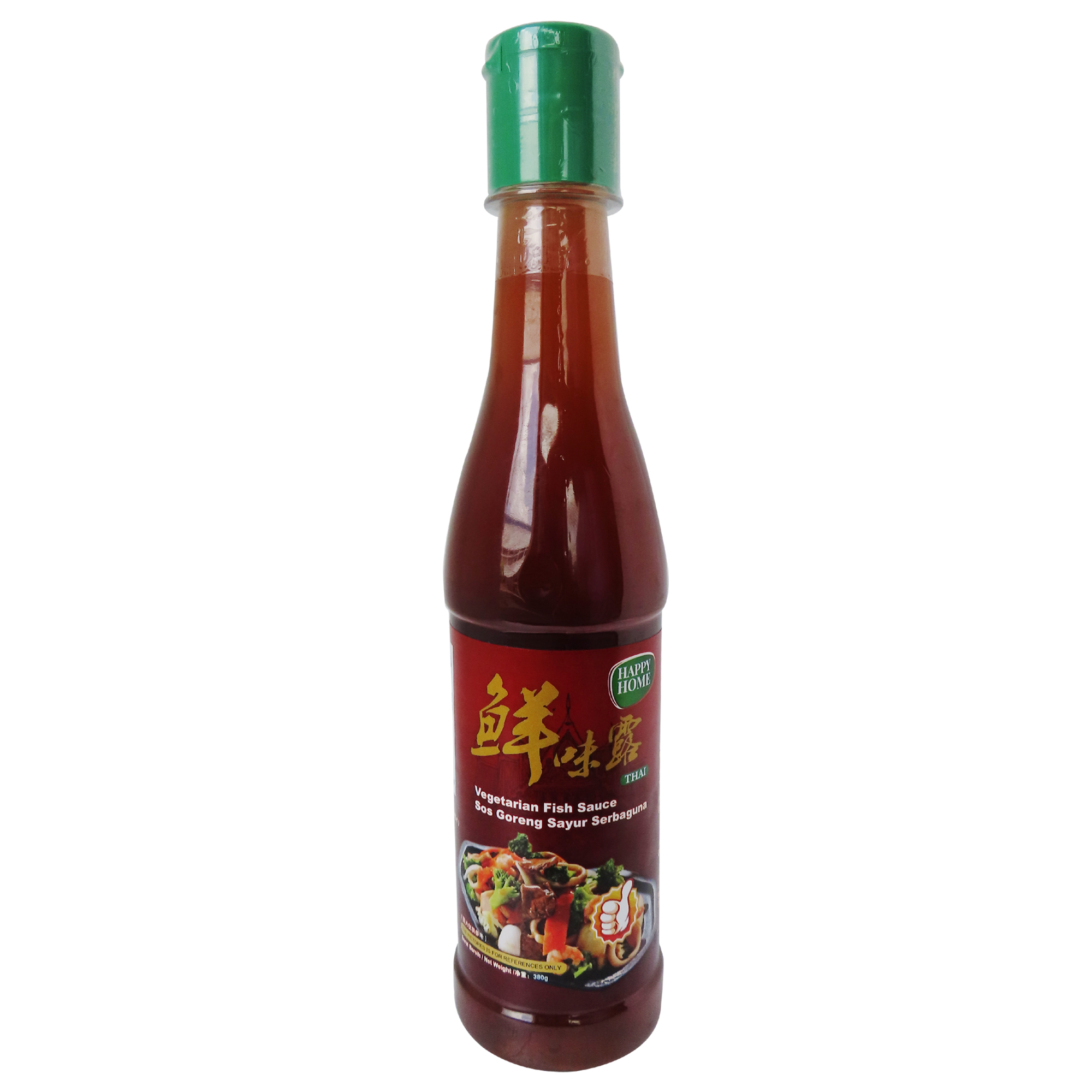 Image Happy Home Vegetarian Fish Sauce 鲜味露 380grams